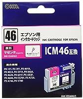 エプソン ICM46互換 インクカートリッジ 顔料マゼンタ INK-EGM46S