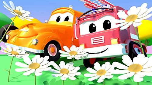 モンスタートラックのマーリーがスタント失敗 ! / ベビーフランクが花粉症
