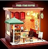 ドール ハウス キット  オープン カフェ   手作り 可愛い プレゼントに最適