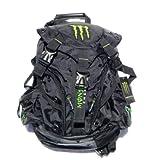 モンスターエナジー [黒/黒] リュック デエイパック チャージャーバックパック CHARGER Back Pack バイク用(並行輸入品)