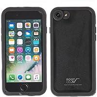 ROOT CO. H2O Water & Shock Proof Hard Shell IP68 iPhone 7 ケース 防水 防塵 耐衝撃 MIL規格 / Black