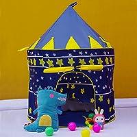 Blueポータブルキッズ折りたたみ式インドア&アウトドア幼児の子の城Cubby再生テントボーイズ、ガールズ