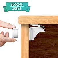 Adoric子安全キャビネットロック 6locks+2keys