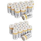 Amazonベーシック 乾電池 単1形 アルカリ 12個セット & 乾電池 単2形 アルカリ 12個セット