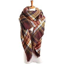 Spring fever Women's Cashmere Wool Warm Fashion Blanket Scarf Pashminas Shawl