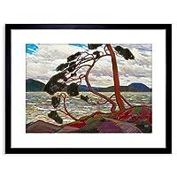 Thomson West Wind Framed Wall Art Print