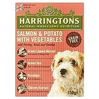 [Harringtons] 野菜150グラムとHarringtons穀物自由サーモン&ポテト - Harringtons Grain Free Salmon & Potato with Vegetables 150g [並行輸入品]