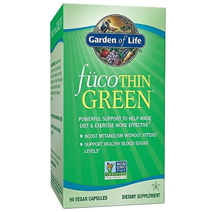 敷居理解するペルセウス海外直送品Garden of Life Fucothin Green, 90 Caps