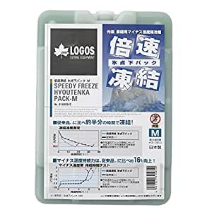 ロゴス 保冷剤 倍速凍結氷点下パックM 81660642