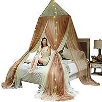 蚊帳3ドアオープンダブルベッド、シングルベッドラウンド蚊帳フロアスタンド子供用蚊帳 (色 : C, サイズ さいず : 1.5M)