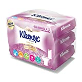 Kleenex Ultra Soft Moist Toilet Tissue, 40ct (Pack of 3)