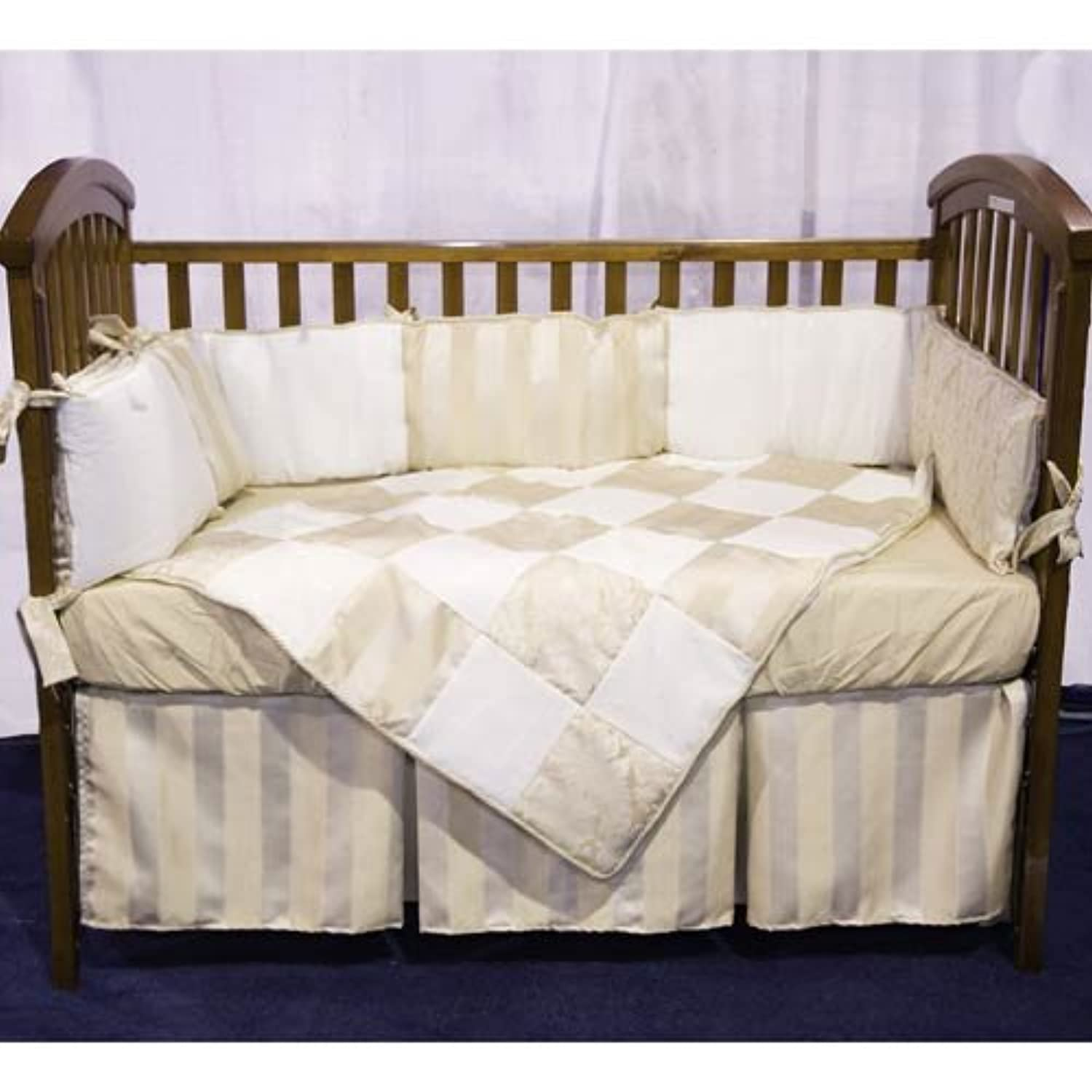 Baby Doll Bedding Gold Sensation Mini Crib/ Port-a-Crib Set, Gold by BabyDoll Bedding