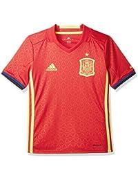 (アディダス)adidas サッカーウェア サッカースペイン代表 ホーム レプリカ 半袖シャツ AAO62 [ジュニア]