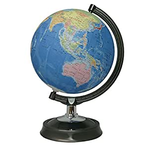 昭和カートン 地球儀 球径26cm 26-GF 行政図タイプ 日本地図付