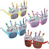 [ルボナリエ] ハッピーバースデー サングラス Happy Birthday 誕生日 4色セット