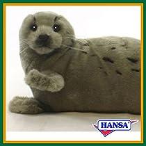 HANSA ハンサ ぬいぐるみ 4054 タテゴトアザラシ36 HARP SEAL