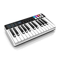 【日本正規代理店品・保証付】IK Multimedia iRig Keys I/O 25 (25鍵標準鍵盤モデル・MIDIキーボード) IKM-OT-000068