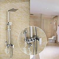 The Rainsシャワーミキサーシャワーバスルーム、ラグジュアリーバスルームキーホルダーの4つの可能性、シャワーとハンドシャワー