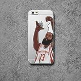 James Harden【iPhone6/6s PLUS】ジェームス ハーデン NBA バスケ クリアケース iPhone case【ノーブランド品】 [並行輸入品]