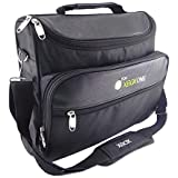 UbiGear Travel Carry Case Bag for Microsoft Ms Xbox 360 Console Shoulder Carrying Black