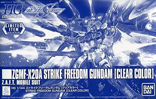 [Event Limited] HGCE 1 144 Strike Freedom Gundam [Clear color] Gundam EXPO2