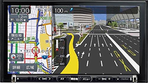ワイド7型VGA地上デジタルTV/DVD/SD AVナビゲーション NX717