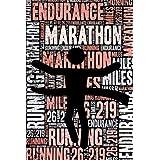 Womens Marathon Running Journal: Cool Blank Lined Womens Marathon Running Lovers Notebook For Female Marathon Runner and Coach