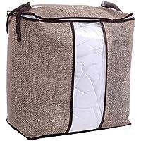 WINOMO 収納袋 布団収納袋 衣類 収納 収納ケース 不織布製 大容量 51x46x28cm 折り畳み可能(フラクセン)