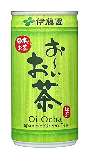 おーいお茶 緑茶 缶 190mlx30本