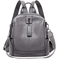 ALTOSY Fashion Genuine Leather Backpack Purse Shoulder Bag for Women