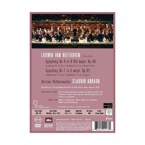Symphonies 4 & 7 [DVD]の紹介画像3