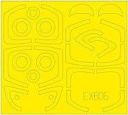 エデュアルド 1/48 「Tフェース」 L-39 アルバトロス 両面塗装マスクシール (エデュアルド/スペシャルホビー用) プラモデル用マスキングシート EDUEX605