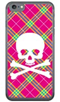 [iPhone 7/Apple専用] SECOND SKIN スマートフォンケース スカルパンク ピンク (クリア) 3APIP7-PCCL-201-Y218