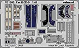 エデュアルド 1/48 ズームシリーズ フォッケウルフ Fw190D-9 エッチングパーツ (エデュアルド用) プラモデル用パーツ EDUFE1209
