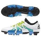 [アディダス] adidas サッカーシューズ エックス15.1ージャパン HG S74623 S74623 (ランニングホワイト/セミソーラースライム/コアブラック/26.0)