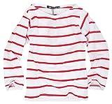 SHI-JYOMAN 長袖Tシャツ ボーダーTシャツ ロンT カットソー 男の子 女の子 トップス ボーイズ ガールズ キッズ・ジュニア用子供服