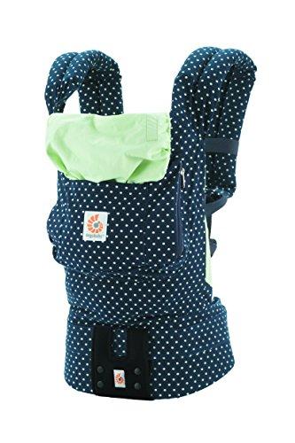 エルゴベビー(Ergobaby) 抱っこひも おんぶ 装着簡単 オリジナル/ミントドット【日本正規品保証付】