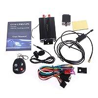 Pape、Car Vehicle SpyリアルタイムSMS / GPS / GSM / GPRSトラッカー追跡システムデバイスtk103b