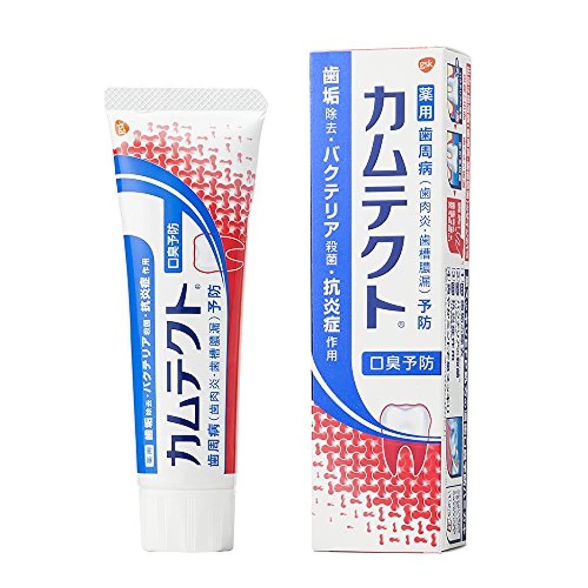 ゴネリル個人反応する[医薬部外品]カムテクト 口臭予防 歯周病(歯肉炎?歯槽膿漏) 予防 歯みがき粉 105g