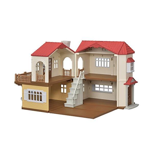 シルバニアファミリー お家 赤い屋根の大きなお...の紹介画像2