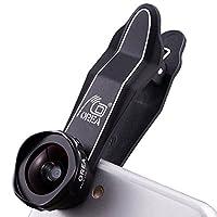 OREA スマートフォン用ワイドレンズ iPhone 6/5/5s /6plus用 ブラック SYZ2X