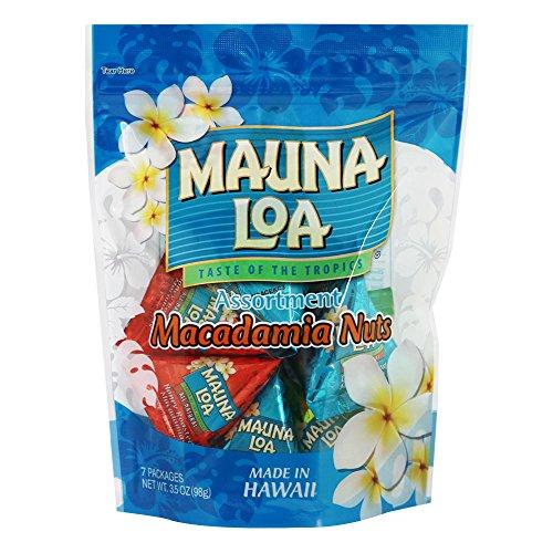 ハワイお土産 マウナロア マカデミアナッツミニアソートバッグ