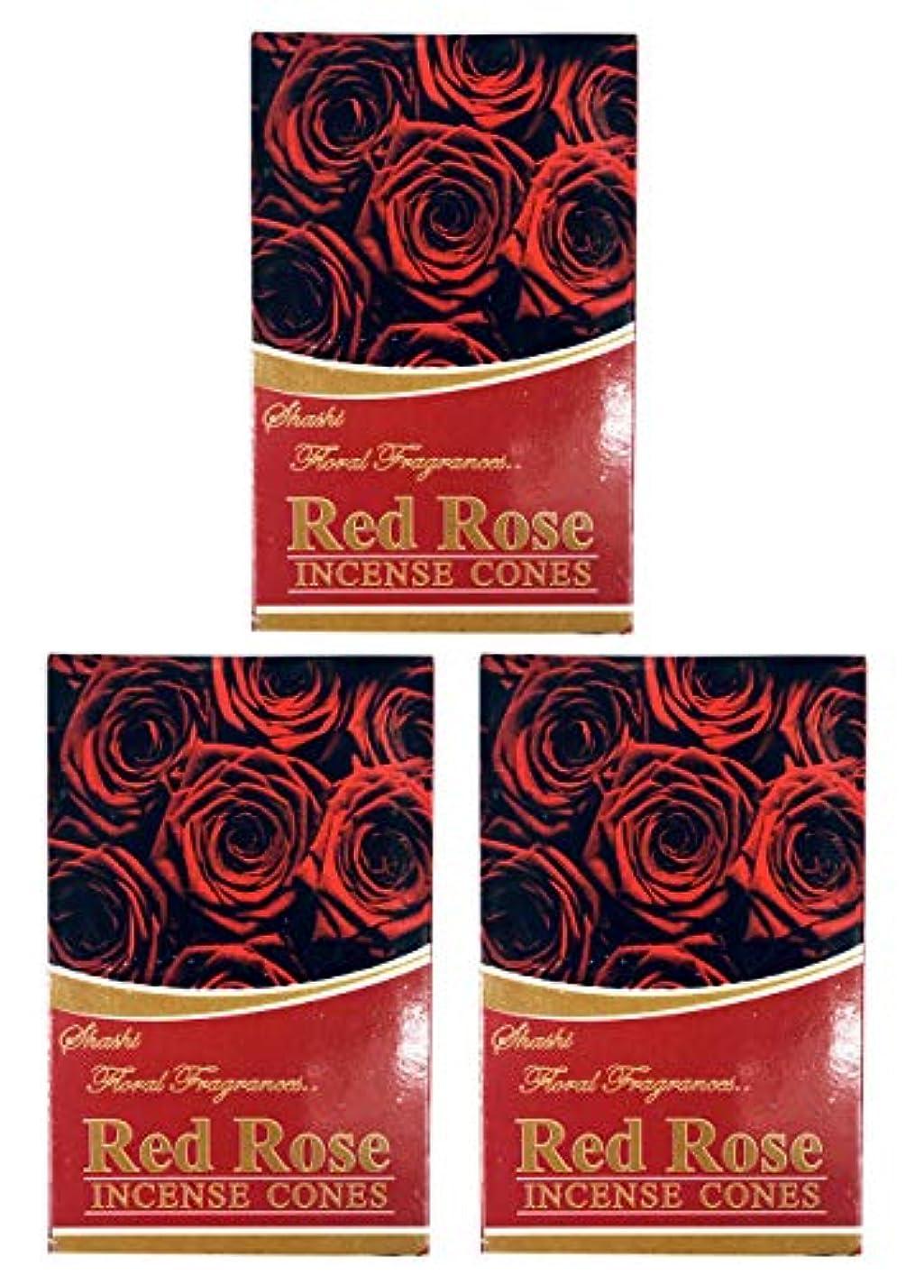 アパート七面鳥正確にローズ ROSE お香 インセンス お線香 コーンタイプ 【まとめ買い3個パック】香り(アロマ)でリラック効果