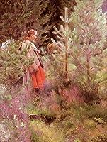 手描き-キャンバスの油絵 - Vallkulla foremost Sweden Anders Zorn 芸術 作品 洋画 ウォールアートデコレーション -サイズ05