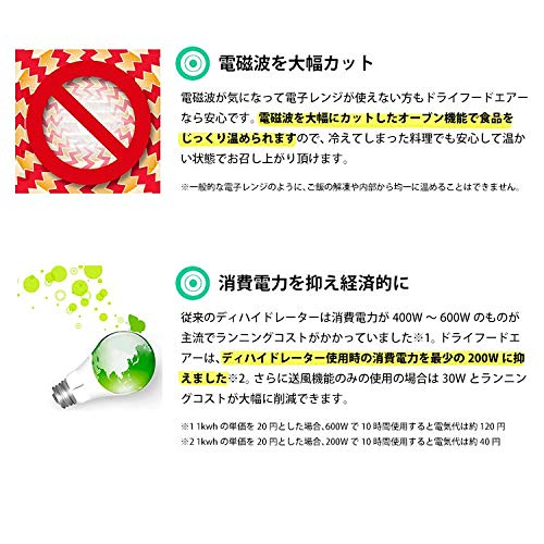 ロハススタイルジャパン『ドライフードエアー(new-DFA-01)』