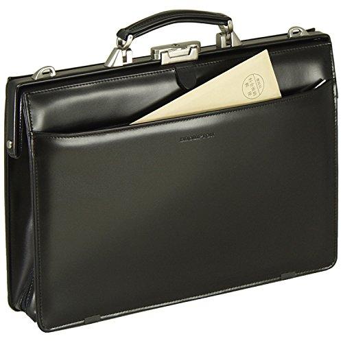 [豊岡製 かばん] 全開 大容量 ダレスバッグ マチ幅変更可...