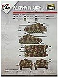 ボーダーモデル 1/35 ドイツIV号戦車用 迷彩マスキングシートB プラモデル用マスキングシール BD0036
