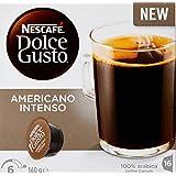 NESCAFÉ Dolce Gusto Americano Intenso Coffee Pods, 16 Capsules (16 Serves) 160g