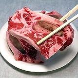 牛 骨付きカルビ 焼肉用 500g 冷凍