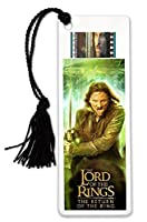 Filmcells Lord of the Rings 3( Aragornブックマークwith Tassel and Real 35mm Filmクリップ